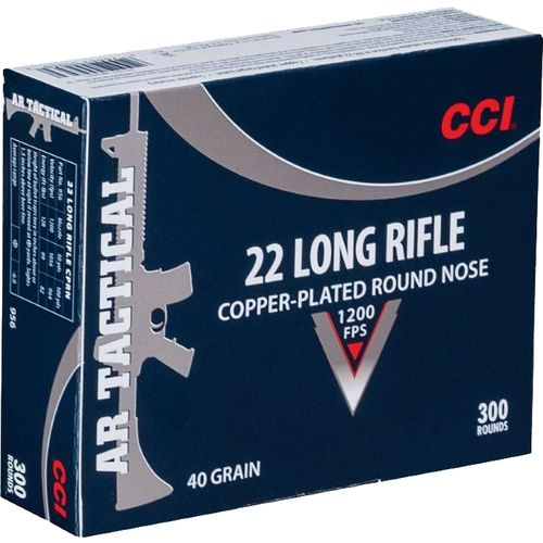 Display product reviews for CCI® Tactical .22 LR 40-Grain Rimfire Ammunition