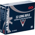 CCI® Tactical .22 LR 40-Grain Rimfire Ammunition