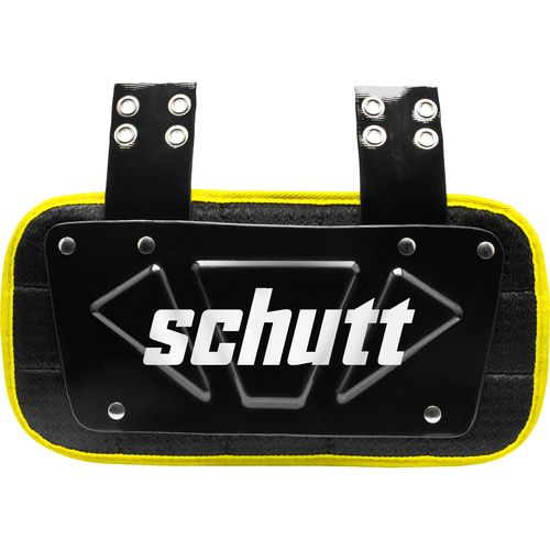 Schutt Varsity Neon Football Back Plate - view number 1