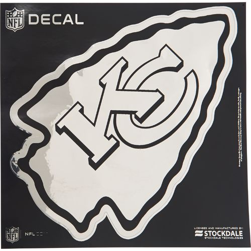 "Stockdale Kansas City Chiefs 6"" x 6"" Metallic"