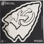 "Stockdale Kansas City Chiefs 6"" x 6"" Metallic Vinyl Die-Cut Decal"