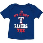 Majestic Infants' Texas Rangers My First Tee T-shirt