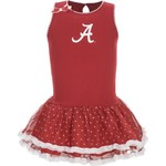 Glitter Gear Girls' University of Alabama Princess Ballerina Dress