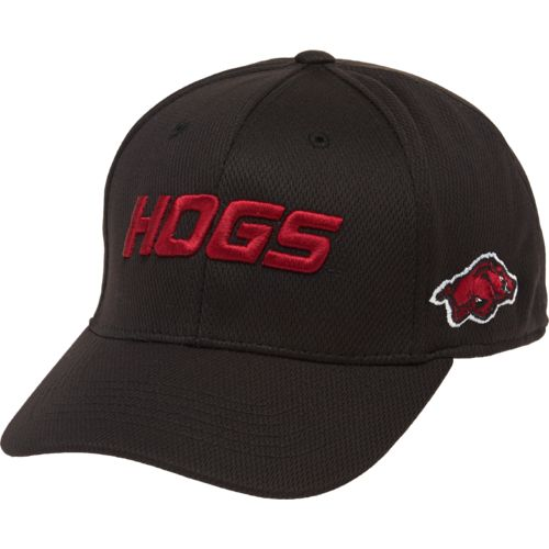 Top of the World Adults' University of Arkansas Dogleg Cap