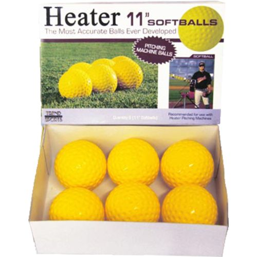 Heater Sports 11' Pitching Machine Softballs 12-Pack