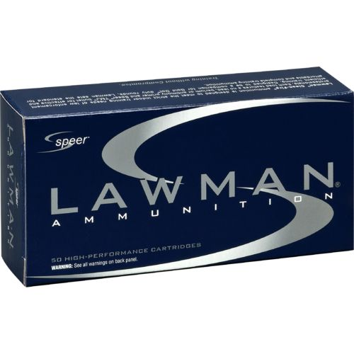 Speer® Lawman .40 S&W 165-Grain Full Metal Jacket Ammunition
