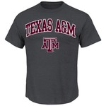 Majestic Men's Texas A&M University Section 101 Arch Mascot T-shirt