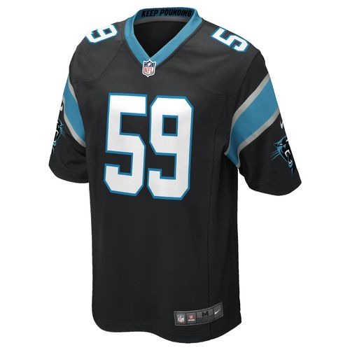 Nike™ Boys' Carolina Panthers Luke Kuechly Game Jersey - view number 2