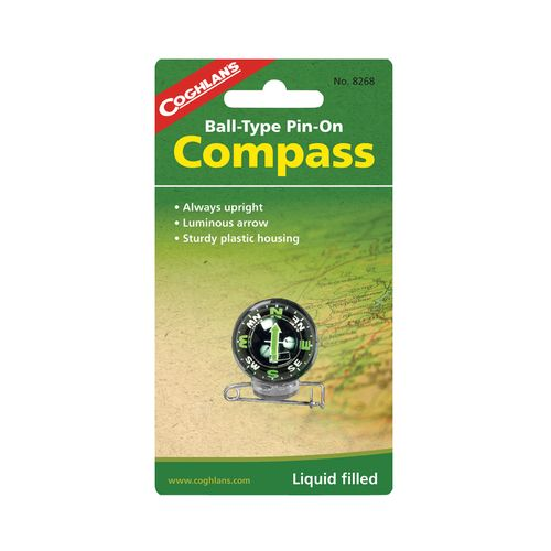 Coghlan's Ball-Type Pin-On Compass
