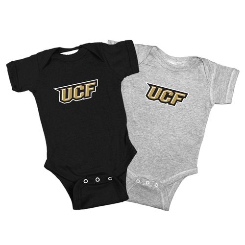 Atlanta Hosiery Company Toddlers' University of Central Florida Lap Shoulder Creepers 2-Pack