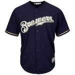 Majestic Men's Milwaukee Brewers Ryan Braun #8 Cool Base® Alternate Jersey - view number 2