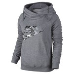 Nike Women's Rally Printed Funnel Neck Hoodie