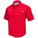 Chiliwear Men's North Carolina State University Swivel Short Sleeve Fishing Shirt
