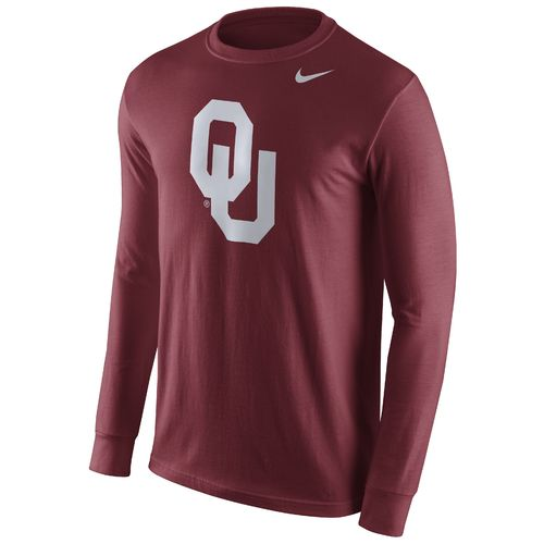 Nike™ Men's University of Oklahoma Long Sleeve Logo T-shirt