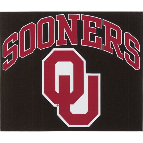 "Stockdale University of Oklahoma 8"" x 8"" Vinyl"