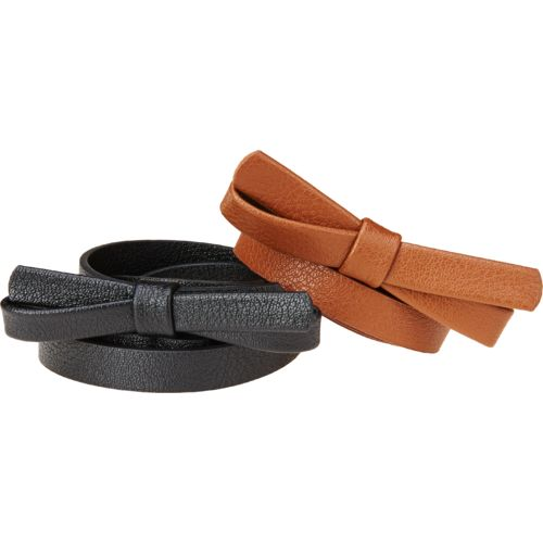 Austin Trading Co. Juniors' School Belts 2-Pack