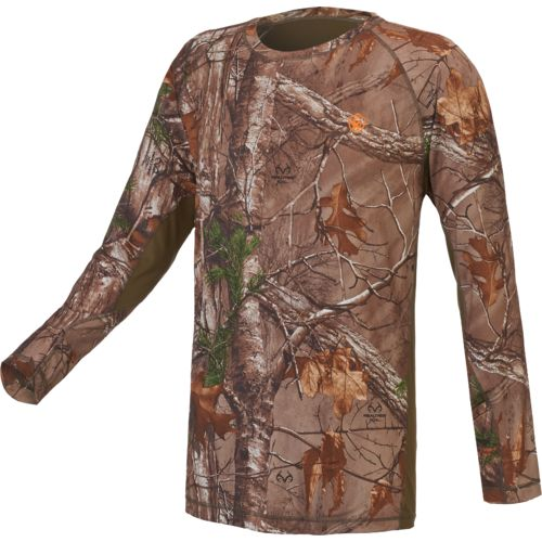 Game Winner Men's Eagle Bluff Long Sleeve Camo T-shirt