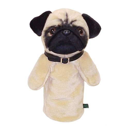 "Winning Edge Pug ""Quasi"" Golf Club Headcover"