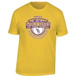 Wildcat Retro Brand Men's Louisiana State University 2015 College World Series T-shirt