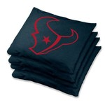Wild Sports Houston Texans Regulation Bean Bags 4-Pack