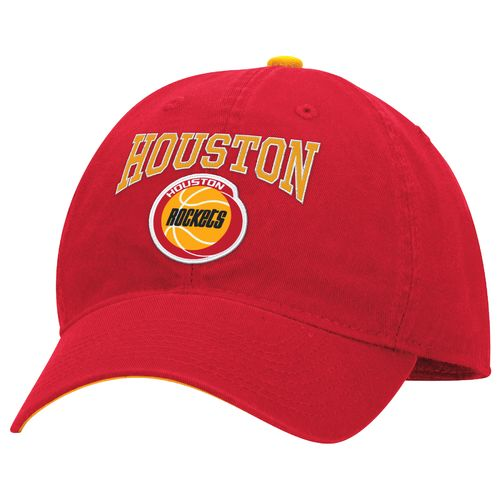 adidas™ Men's Houston Rockets Slouch Adjustable Cap