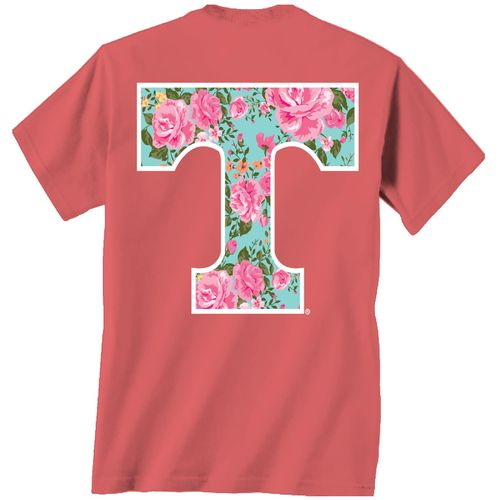 New World Graphics Women's University of Tennessee Floral T-shirt - view number 1