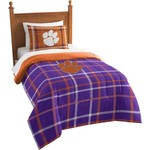 The Northwest Company Clemson University Twin Comforter and Sham Set - view number 1