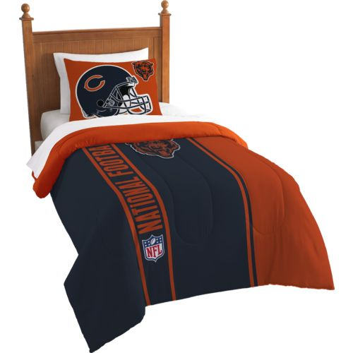The Northwest Company Chicago Bears Twin Comforter and Sham Set