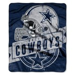 The Northwest Company Dallas Cowboys Grandstand Raschel Throw