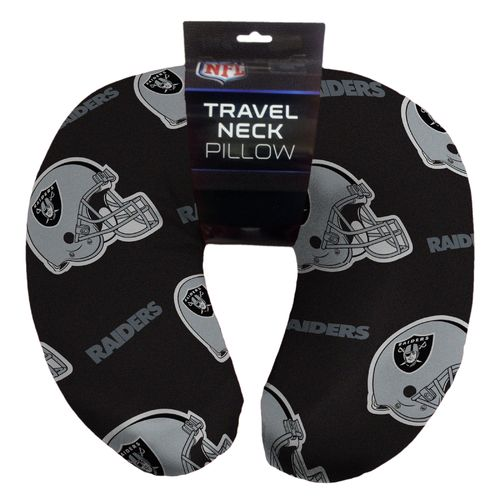 the northwest company oakland raiders neck pillow. Black Bedroom Furniture Sets. Home Design Ideas