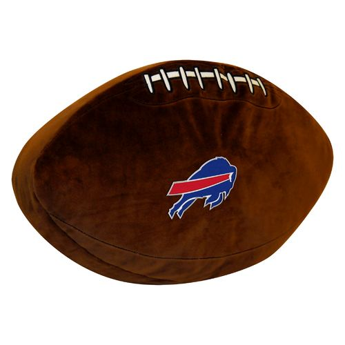 The Northwest Company Buffalo Bills Football Shaped Plush Pillow
