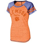 Touch by Alyssa Milano Women's Clemson University In the Bleachers T-shirt