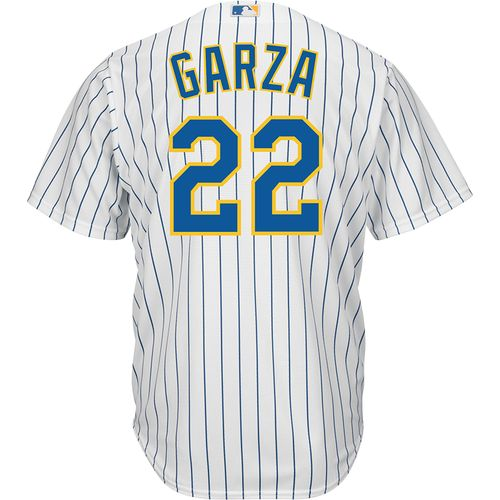 Majestic Men's Milwaukee Brewers Matt Garza #22 Cool Base® Jersey
