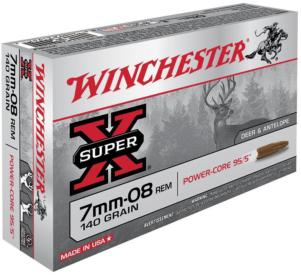Winchester Super-X 7mm - 08 Remington 140-Grain Power