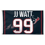 WinCraft Houston Texans J.J. Watt Deluxe Flag