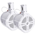 "Power Acoustik 750W Marine-Grade Wake Tower Enclosure with Two 8"" Speakers"