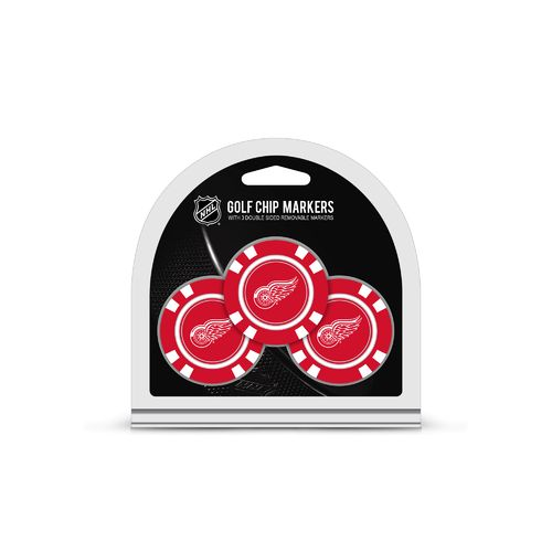 Team Golf Detroit Red Wings Poker Chip and Golf Ball Marker Set