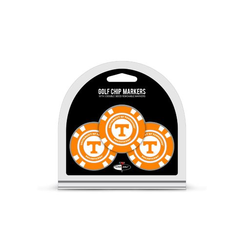 Team Golf University of Tennessee Poker Chip and Golf Ball Marker Set