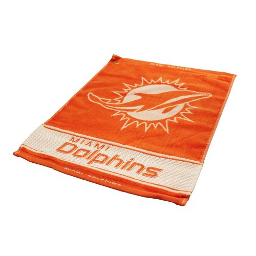 Team Golf Miami Dolphins Woven Towel