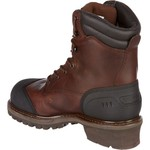 Chippewa Boots Men's Oiled Waterproof Insulated Composition-Toe Logger Rugged Outdoor Boots - view number 3