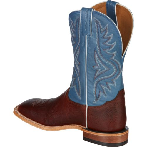 Tony Lama Men's Pecan Bison Americana Western Boots - view number 3