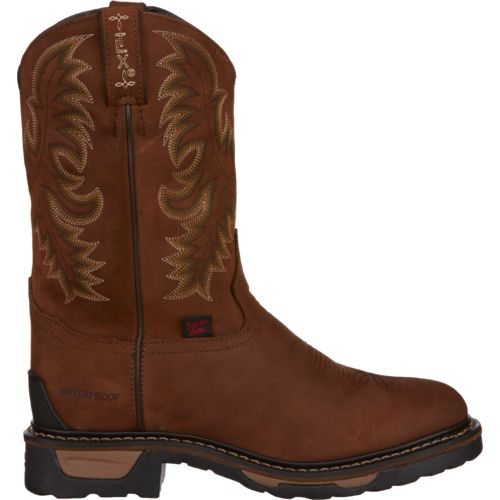 Tony Lama Men's Cheyenne TLX Waterproof Western Work Boots