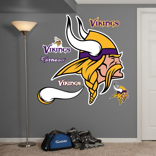 Fathead Minnesota Vikings Real Big Team Logo Decal