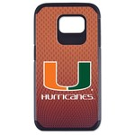 GameWear University of Miami Classic Football Pebble Grain Feel Samsung Galaxy 6 Case