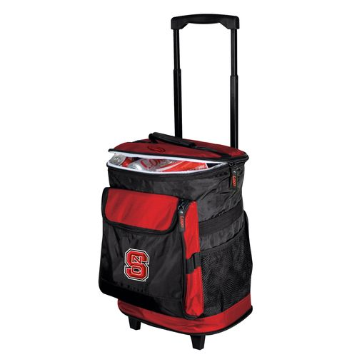 Logo™ North Carolina State University 48-Can Rolling Cooler - view number 1
