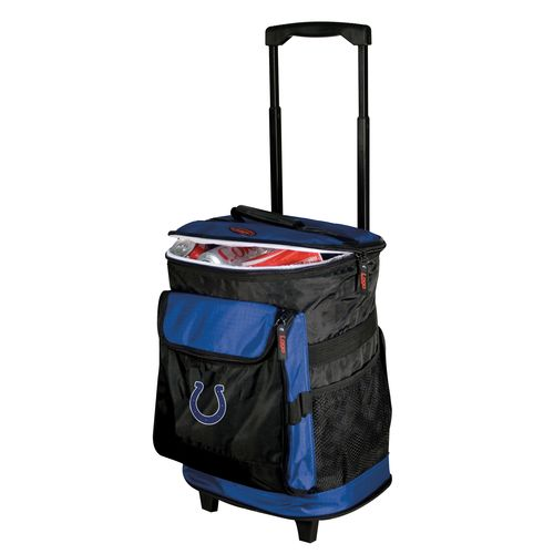 Logo™ Indianapolis Colts Rolling Cooler - view number 1