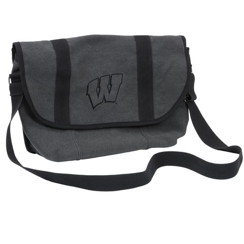 Logo University of Wisconsin Varsity Messenger Bag