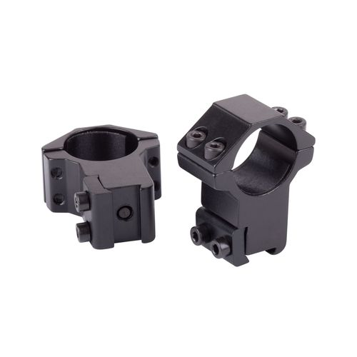 "Crosman 1"" High Profile Dovetail Rings 2-Pack"