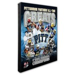 Photo File University of Pittsburgh All-Time Greats Stretched Canvas Photo