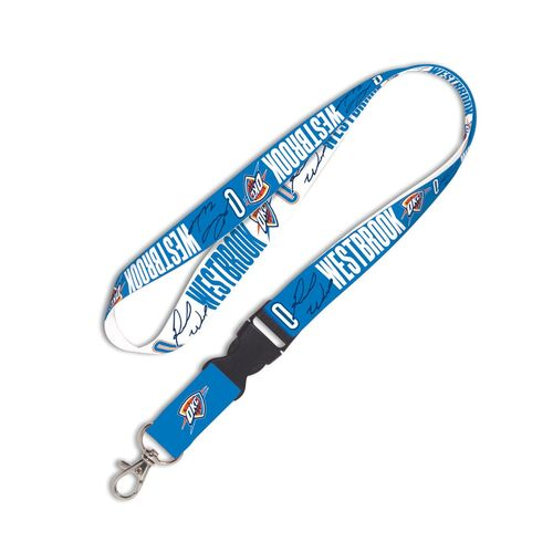 WinCraft Oklahoma City Thunder Russell Westbrook Buckle Lanyard